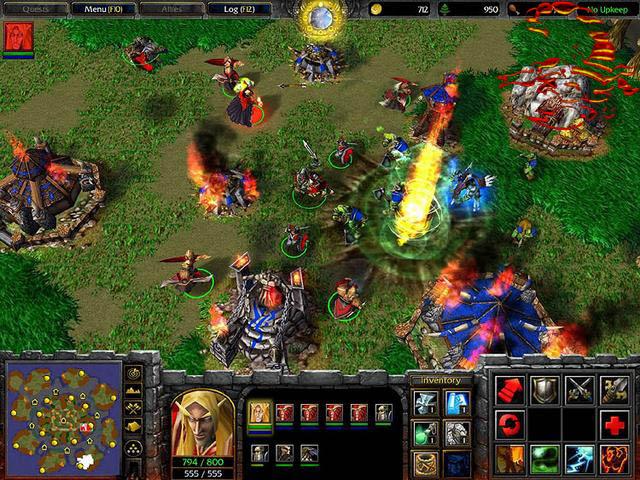 Скачать патчи для Warcraft 3 The Frozen Throne с. Как начать играть DotA че